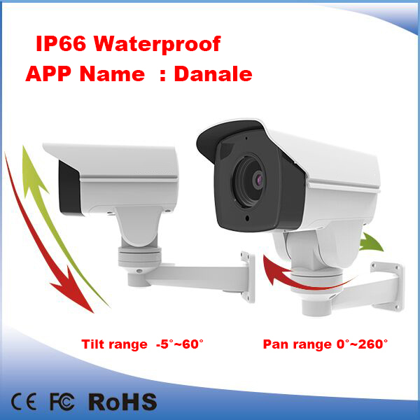 2MP 1080P IR Bullet PTZ CCTV Security network camera 10X VFlens POE Security camera