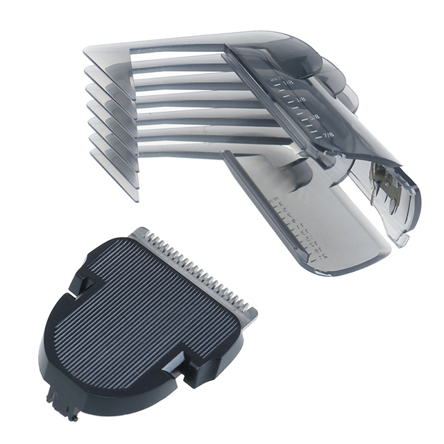 2pcs/set Hair Care Styling Accessories Hair Clipper Comb + Hair Trimmer Cutter For QC5105 QC5115 QC5155 QC5120