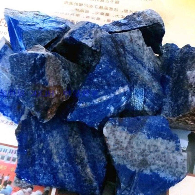 100g NATURAL Rough Afghanistan Lapis lazuli Crystal Raw Gemstone Mineral Chakra