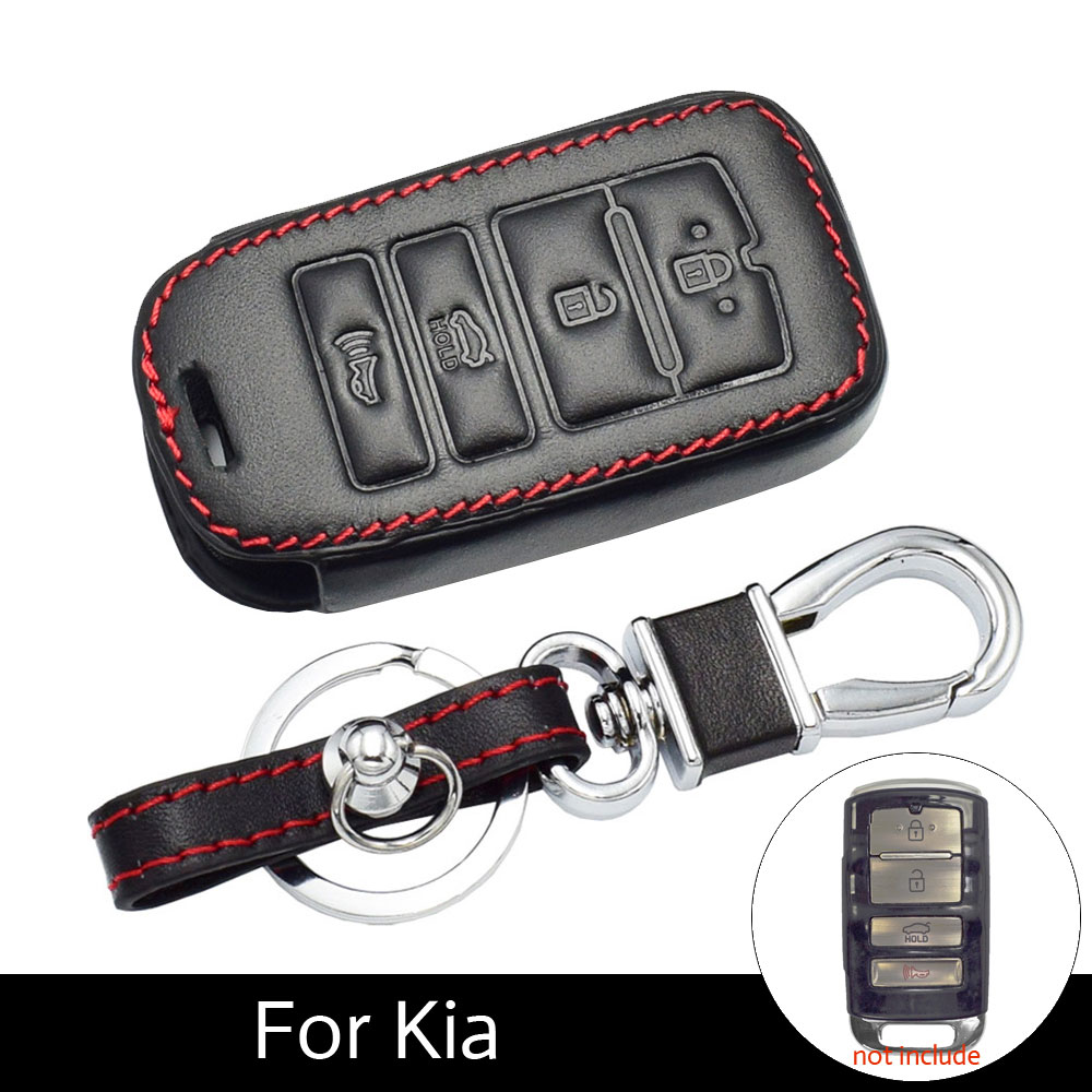 2017 Kia K900: Leather Car Key Case For Kia Sorento K900 New K7 Cadenza