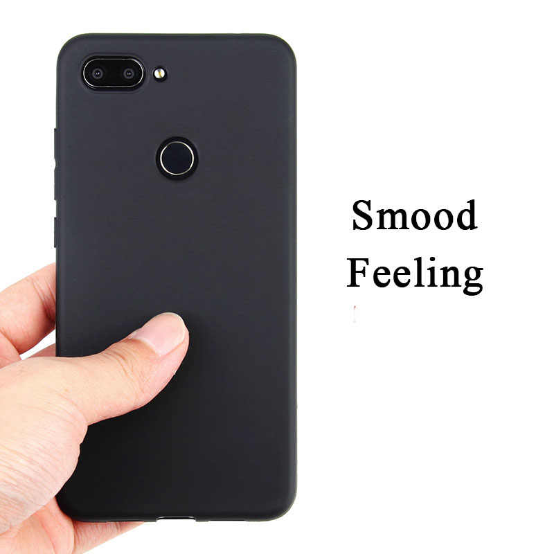 Màu Kẹo Mềm Dành Cho Xiaomi Mi Max Phối 2 3 Pro 5 5C 5 5s 6 6 Plus 8 SE 9 5X 6X A1 A2 Lite Chơi Note 3 Trường Hợp Mờ Chắc Chắn Bao