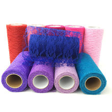 15cm 10Yard Lace Tulle Roll Spool Tutu DIY Table Skirt Birthday Wedding Party Decoration Tulle Organza Wedding Backdrop Supplies(China)