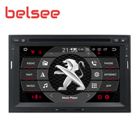 Belsee 4GB+64GB Android 9.0 Radio for Peugeot 3008 5008 Partner 2010 2016 Car Stereo GPS Unit Autoradio DVD Player Sat Navi