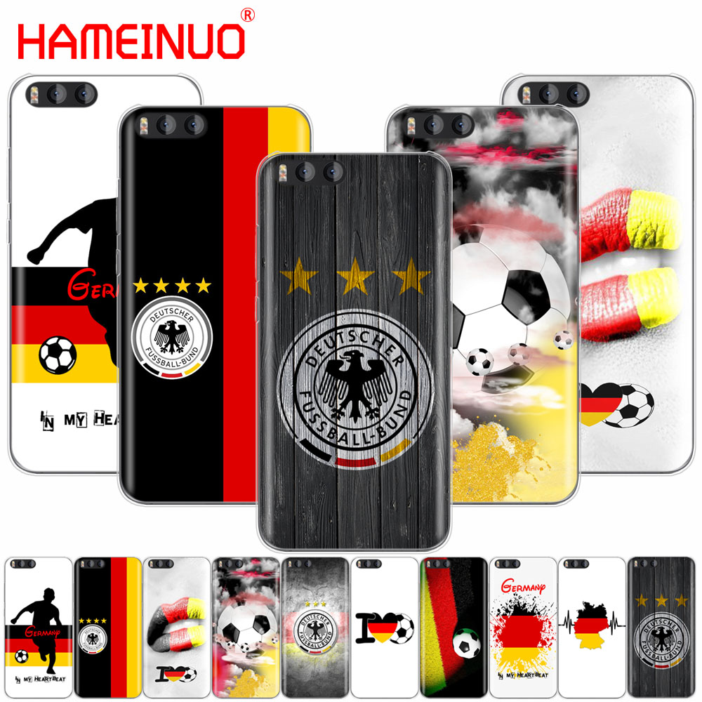 HAMEINUO Germany Soccer Cover Case for Xiaomi Mi 3 4 5 5S 5C 5X 6 Mi3 Mi4 4S 4I 4C Mi5 MI6 NOTE MAX 2 mix plus