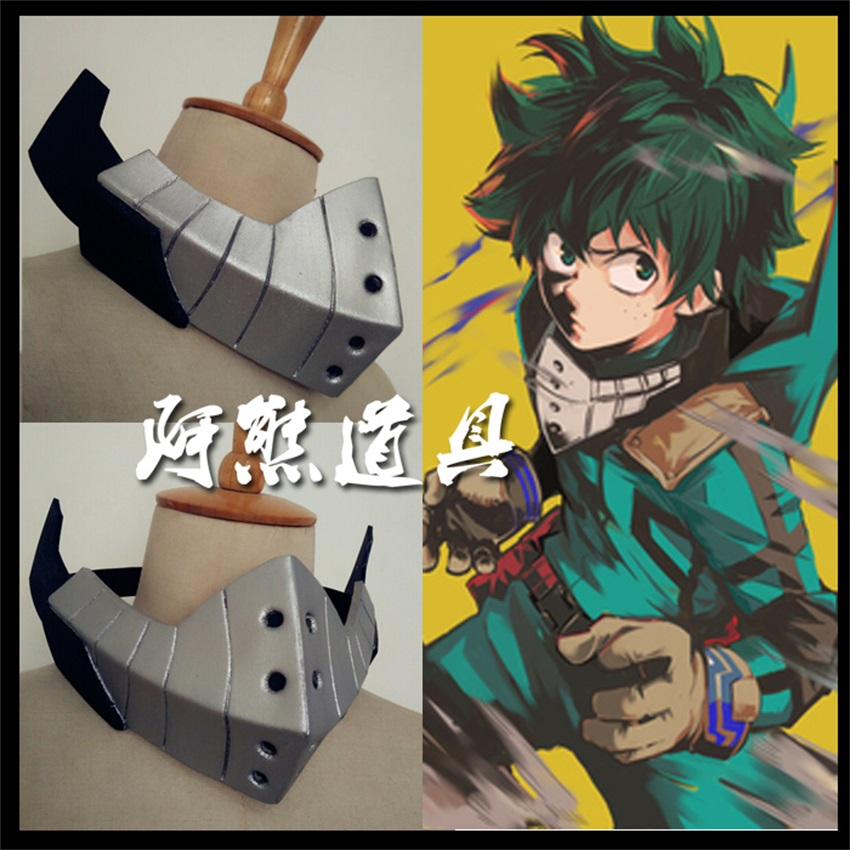 Us 23 46 5 Off My Boku No Hero Academia Midoriya Izuku Mask Costume Cosplay Prop Face Masks In Boys Costume Accessories From Novelty Special Use