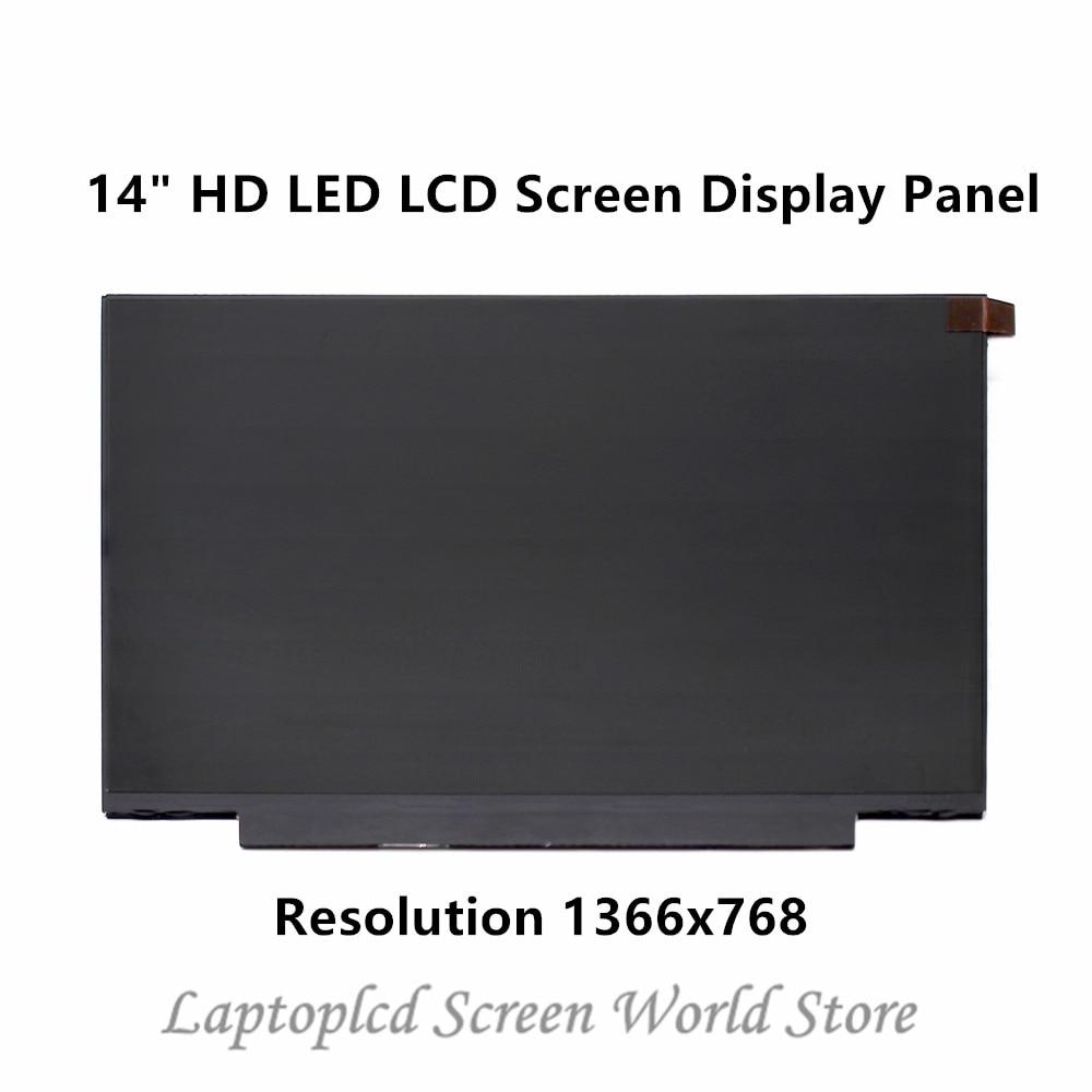 FTDLCD 14 HD LED LCD Screen Reeplacemente Display Panel For B140XTN07.2 B140XTN07.3 1366x768 30 PINFTDLCD 14 HD LED LCD Screen Reeplacemente Display Panel For B140XTN07.2 B140XTN07.3 1366x768 30 PIN