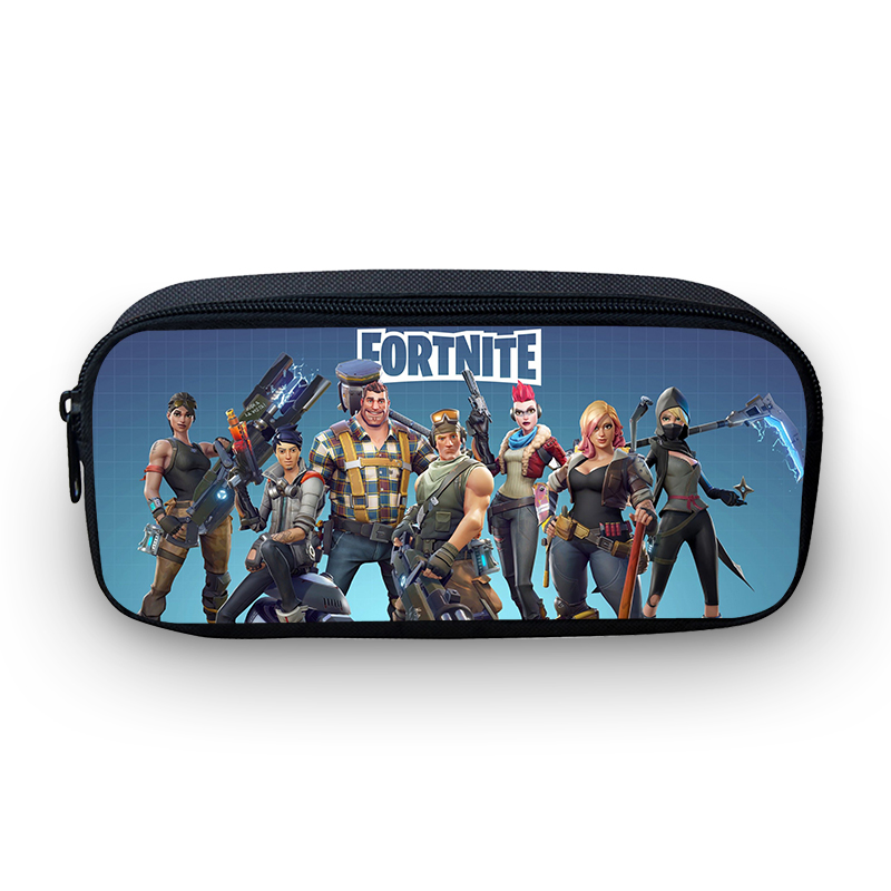 VEEVANV Anime fortnite Pencil Bags battle royale bag trousse Box Pen Case Kids School purse Children Boy Office Supplies 2018