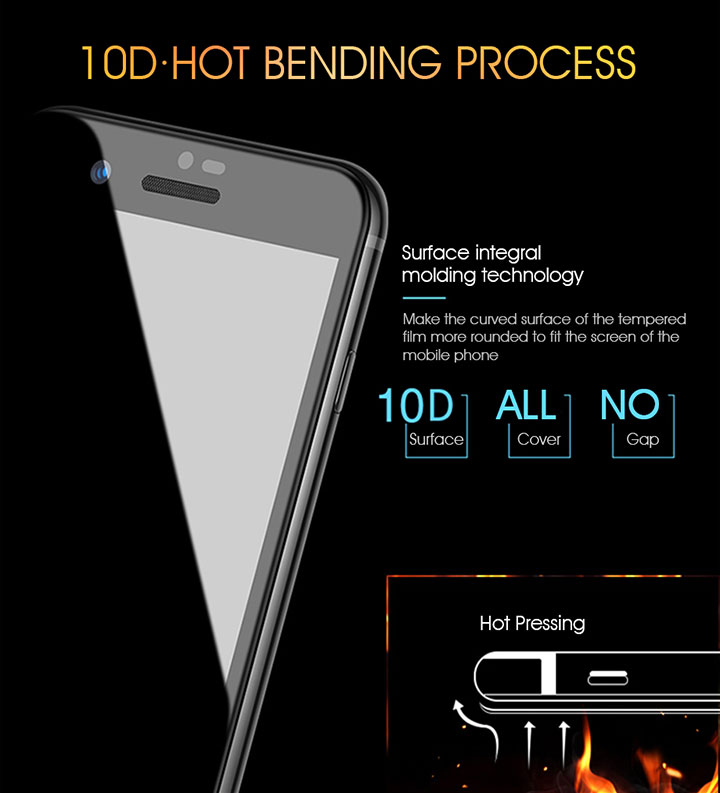 tempered glass screen protector designed for iphone x & iphone xs