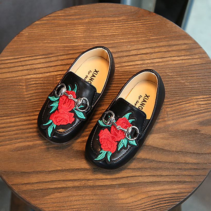 quick shipping infant shoes online flower beading baby loafers for girls children flats casual sneaker for