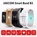 Jakcom inteligente banda b3 novo produto de pulseiras como smart watch pulseira bluetooth inteligente para android/ios telefone inteligente pulsera