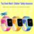 10 pc/lote crianças smart watch q60 chamada sos localizador localizador rastreador para o miúdo seguro anti perdeu para o iphone xiaomi telefones