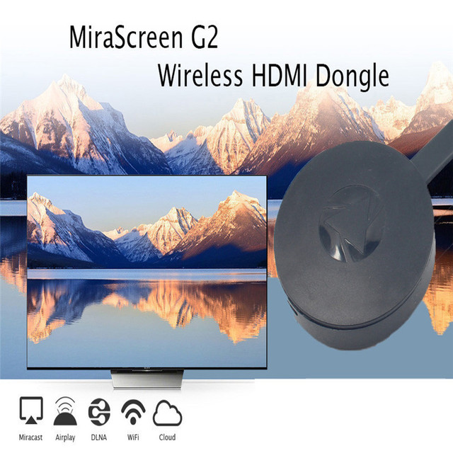 For Miracast Chromecast 2 Digital HDMI Media Video Streamer 3nd ...