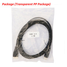 (Dust caps and PP package) 1M 2M 3M 5M 10M Gold Plated Connection Male-Male HDMI Cable V1.4 HD 1080P for LCD DVD HDTV XBOX PS3