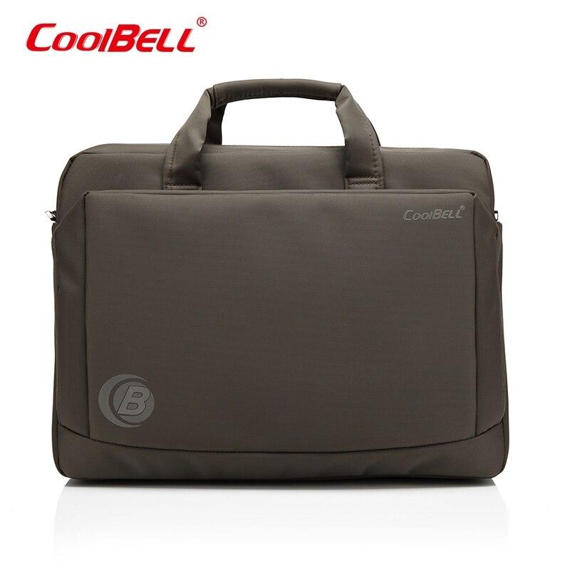Cool Bell 15.6 inch Laptop Bag Notebook Computer Bag Waterproof Messenger Shoulder Bag Men Women Briefcase hand bag цена