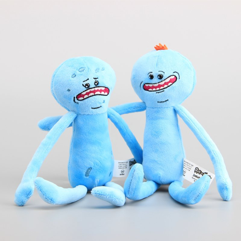 2 Stlyes Rick and Morty Happy & Sad Meeseeks Stuffed Plush Toys Dolls For Kids Gift 26 CM 2