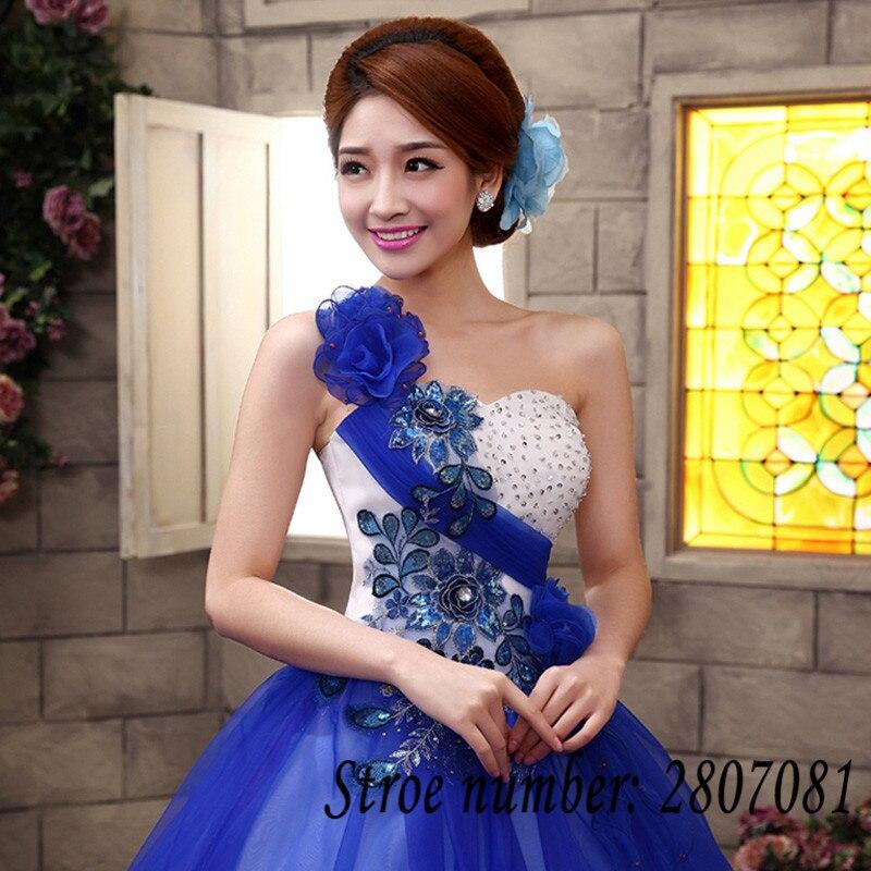 5656a15a1ac2 Vestido de Casamento Abiti Da Sposa Senza Spalline Blu Rosa Rosa rosso Da  Sposa Abito di Sfera di Colore Abiti Da Sposa Abiti Da Sposa MHL006 in  Vestido de ...