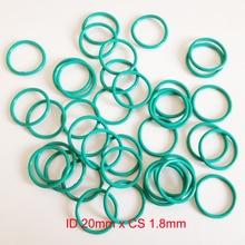 ID20mm*CS1.8mm VITON FKM rubber seal gasket o-ring oring cord id5mm cs1 8mm viton rubber o rings oring seal gasket