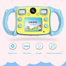 Children HD Mini Digital Camera Dual Lens Shockproof Handles