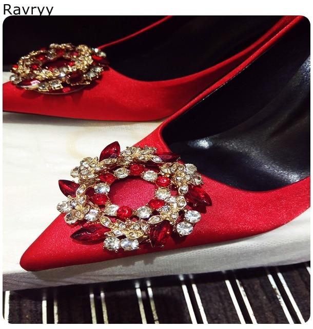 Dedo Cristal Alto 9cm Dama Pie Puntiagudo 9cm Mujer Lujo 9cm 6cm Mujeres Las 6cm Zapatos Individuales Del Rojo Fino 6cm De Boda Vestido Fiesta Traje Tacón Talón 5XzxBwqXA