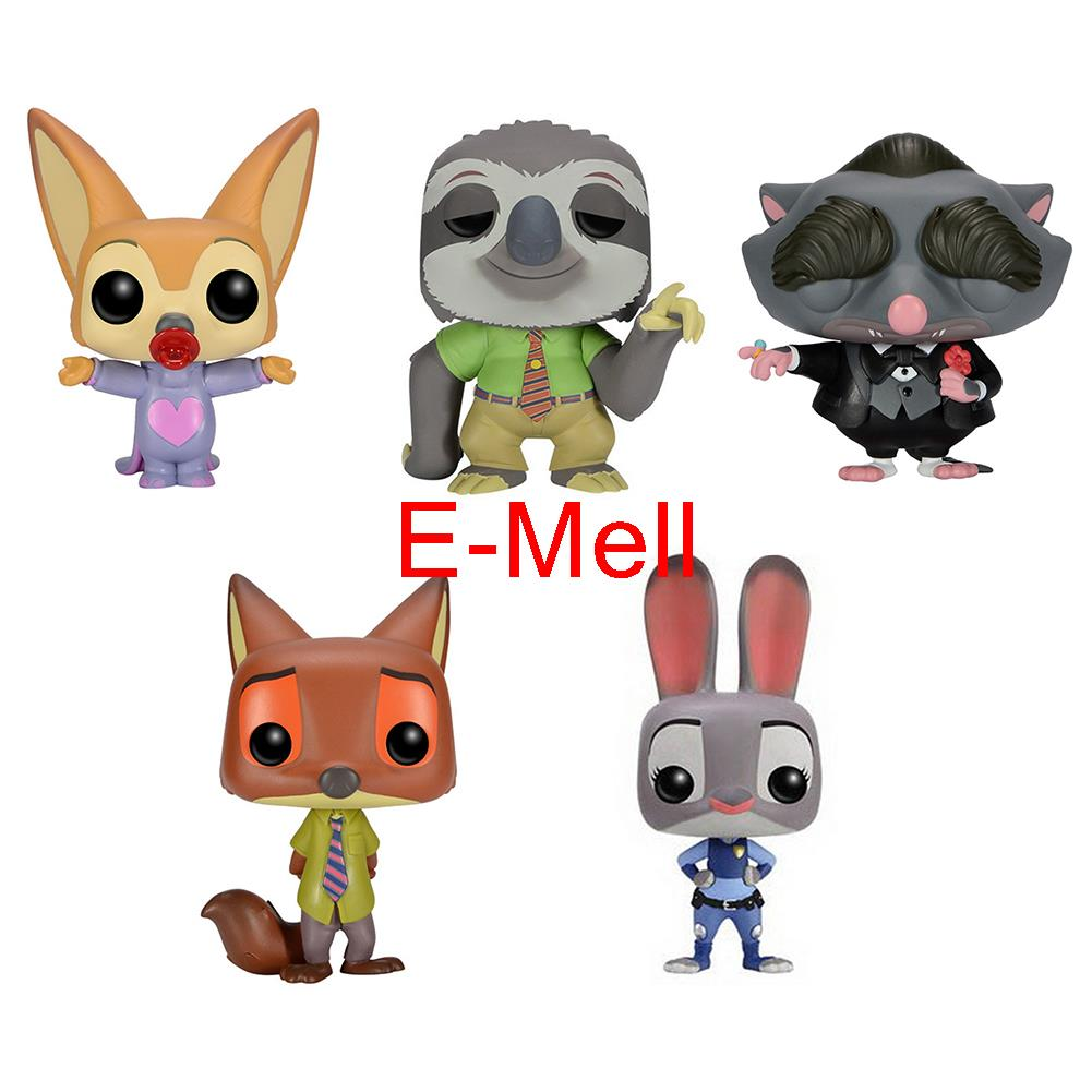 Crazy Zoo Cosplay Fennec Fox Nick Sloth Judy Mr Big Q-version GK Garage Kit Action Figures Model Toys Dolls q каталог crazy earphones