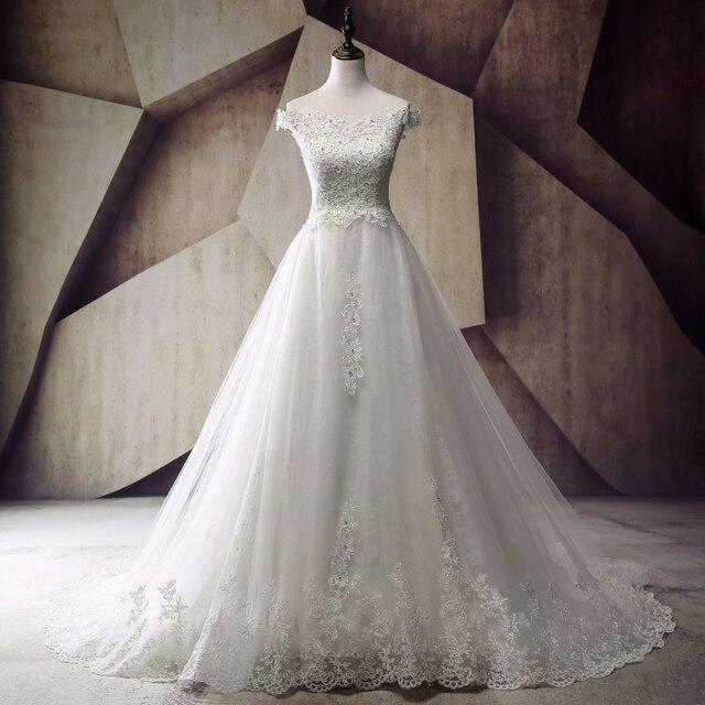 Aliexpress.com : Buy Robe de mariage Pretty Women Ball Gown Wedding ...