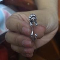 1pcs-adjustable-new-fashion-shih-tzu-ring-free-size-cartoon-animal-dog-ring-jewelry-for-pet-lovers