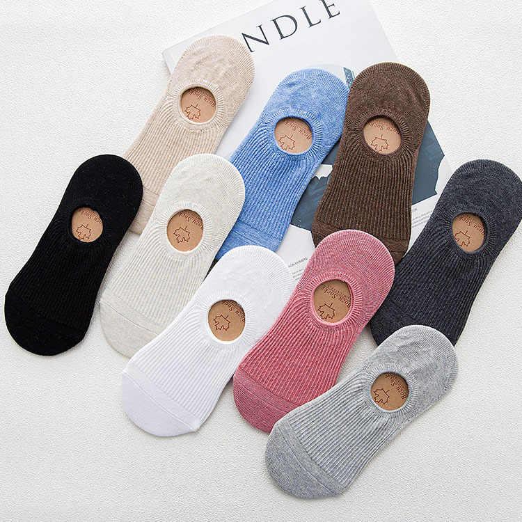 Невидимые короткие женские спортивные летние удобные хлопковые бамбуковые женские носки-лодочки для девочек короткие женские невидимые носки до лодыжки 1 пара = 2 шт tt097