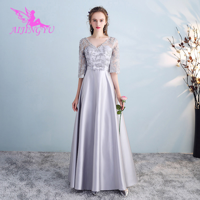 AIJINGYU 2018 new sexy wedding guest party prom dress bridesmaid dresses BN852
