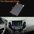 Car Styling 8 Inch GPS Navigation Screen Steel Protective Film For Chevrolet Cruze Control of LCD Screen Car Sticker