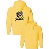 Pirates Skulls Print Punk Style Spring Autumn Sweatshirts Women Fashion Hoodies Lady Girl Casual Cotton Jackets Hoody Clothes