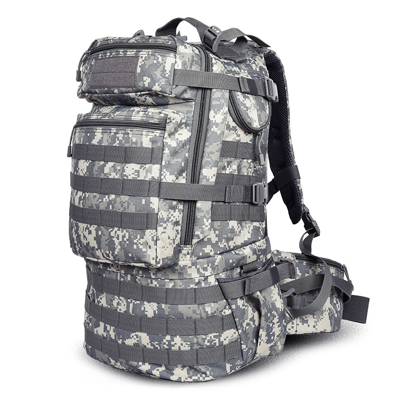 FREE SHIPPING Men Women Unisex Outdoor Military Tactical Backpack CampHiking Bag Rucksack 50L MOLLE Large Big Ergonomic Gear free shipping men women unisex outdoor military tactical backpack camphiking bag rucksack 50l molle large big ergonomic gear