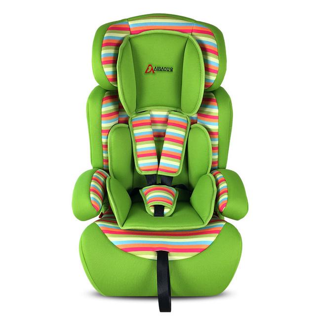 Nueva caliente! niño de coche de bebé silla asiento 7 colores cabrito silla de protección infantil ISOFIX interfaz GE-G34