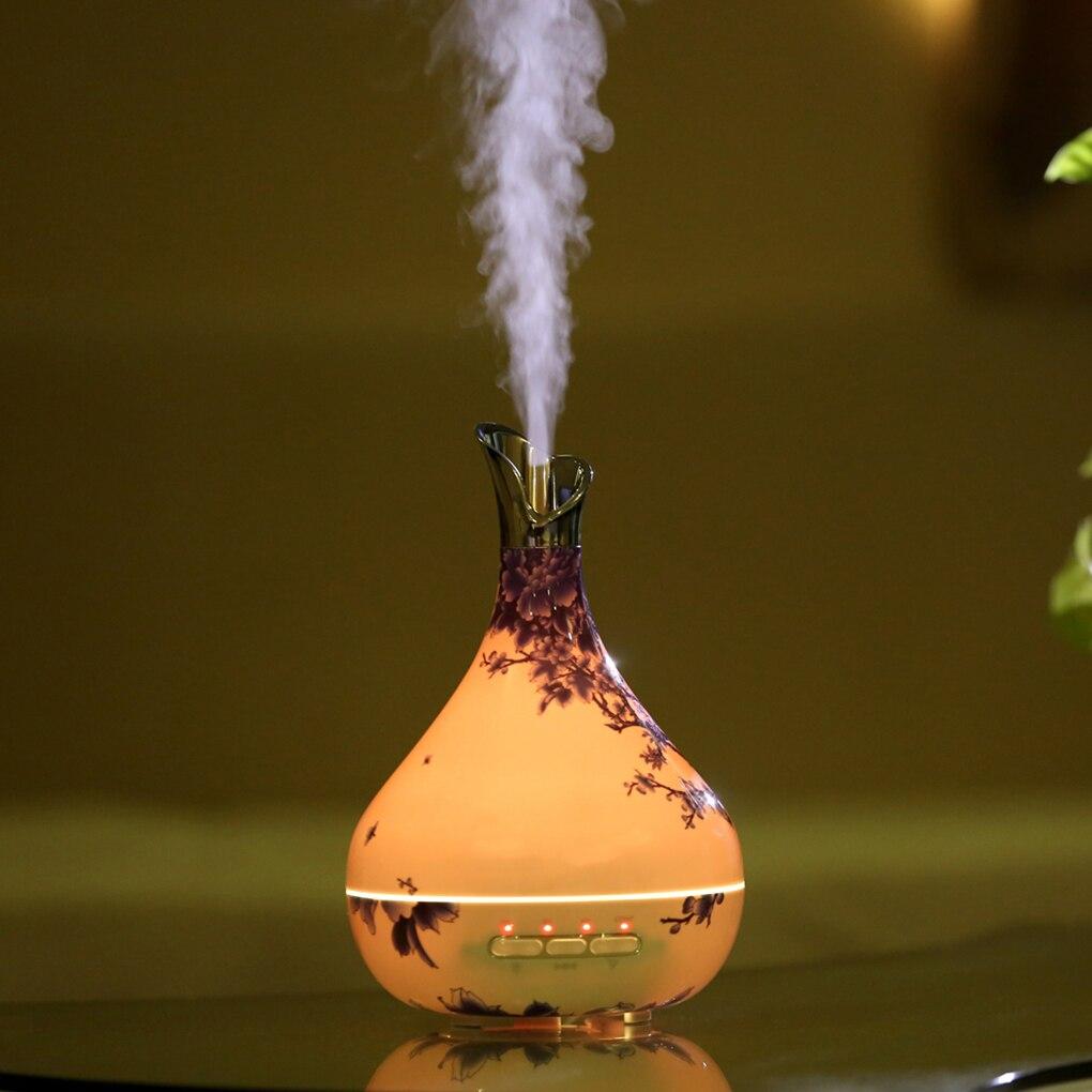 Ultrasons micro-ondes capteur intelligent parfum huile essentielle brûleur d'encens humidificateur aromathérapie diffuseur purificateur