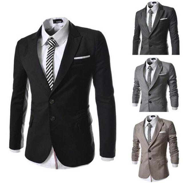 2016 Hot Polyester Regular Suit Casual Blazers Cotton Fashion Male Novelty Slim Fit With A Hood Blazer Classic Suits 4 Color
