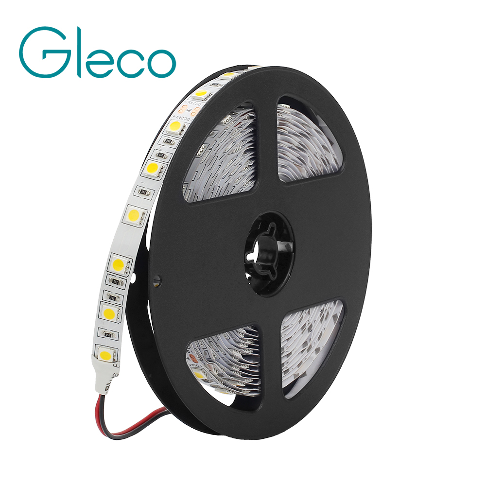 DC 24V 5050 LED Strip 60LEDs/m 5M/Roll 300LEDs IP20 Non-Waterproof LED strip 5050 RGB ,white,warm white,red,blue,green,yellow цена