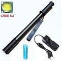 Высокое качество бейсбольной битой Полиции самообороны Тактические LED Фонарик 3000 Люмен CREE T6 U2 led фонарик факел + 18650
