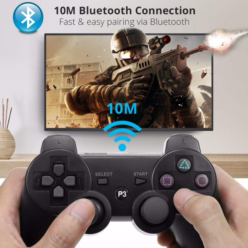 Aliexpress.com : Buy Bluetooth Wireless Gamepad Pubg Controller for PS3 Wireless Joystick ...