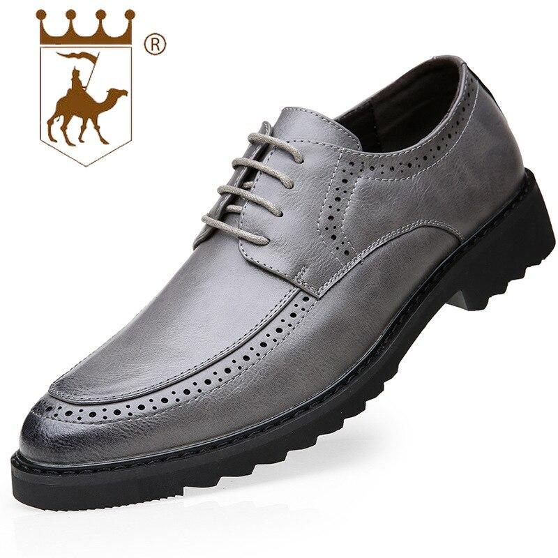 Couro Redonda De Microfibra Vestido Desgaste Negócios Respirável Casamento gary Homens khaki Shoessize39 Dos Sapatos 44 Black Nova Primavera Backcamel2019 Cabeça YPwqz8zB