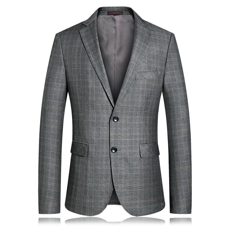 KOLMAKOV 2019, мужские повседневные блейзеры, приталенный, роскошный, для выпускного, пиджак, Homme, Весенняя мода, блейзер для мужчин, блейзер цвета ... - 4