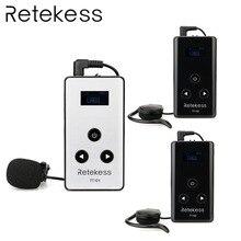 RETEKESS Wireless Tour Guide System 195-230MHz Audio Transmission System 99 Channel For Simultaneous interpreting Reception цена в Москве и Питере