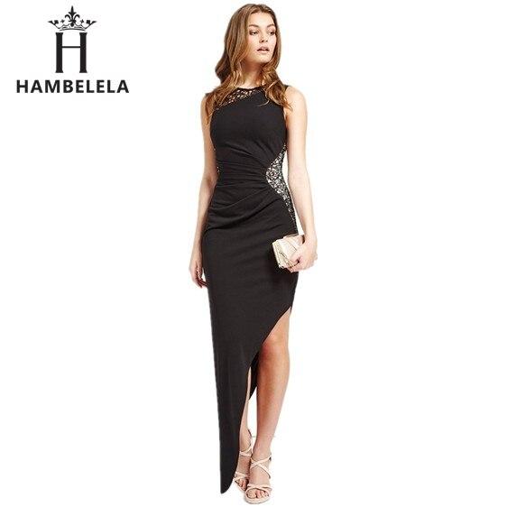 2ed771698 Hambelela 2017 nuevo estilo de lentejuelas de verano lace dress sexy ...