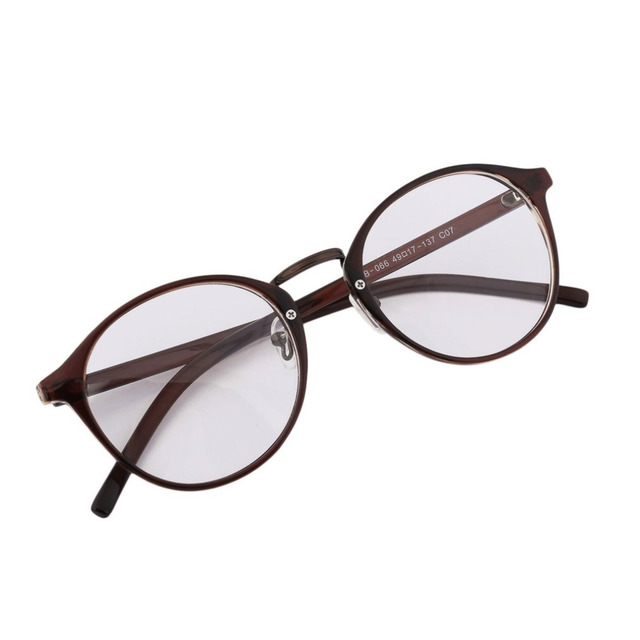New Arrivals Fashion Beautiful Retro Round Clear reading frame ...
