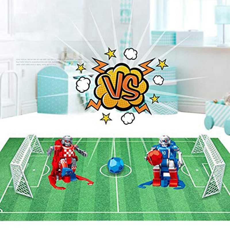 Alfombra de fútbol para niños, alfombra de juguete, estera de arrastre, juego de entretenimiento interactivo, Alfombra de competición para padres e hijos