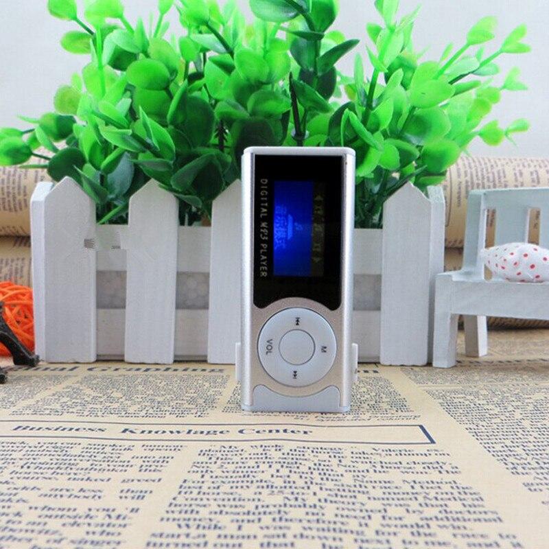 Mini USB Clip LCD Screen MP3 Media Player Support 16GB Micro SD