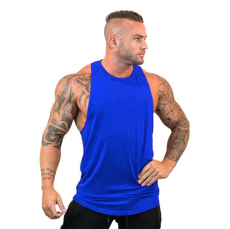 893f8db0ed5e28 Skull Bodybuilding Stringer Tank Tops men Gyms Stringer Shirt Fitness Tank  Top Men Gyms Clothing Cotton Vest hoodies-in Tank Tops from Men's Clothing  on ...
