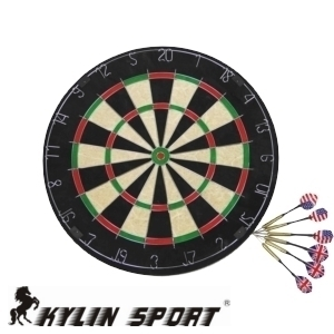 athletic supplies 4cm thickness quality sisal fiber professional dart board thick dartboard set