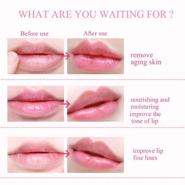 3pcs Crystal Collagen Lip Mask 5