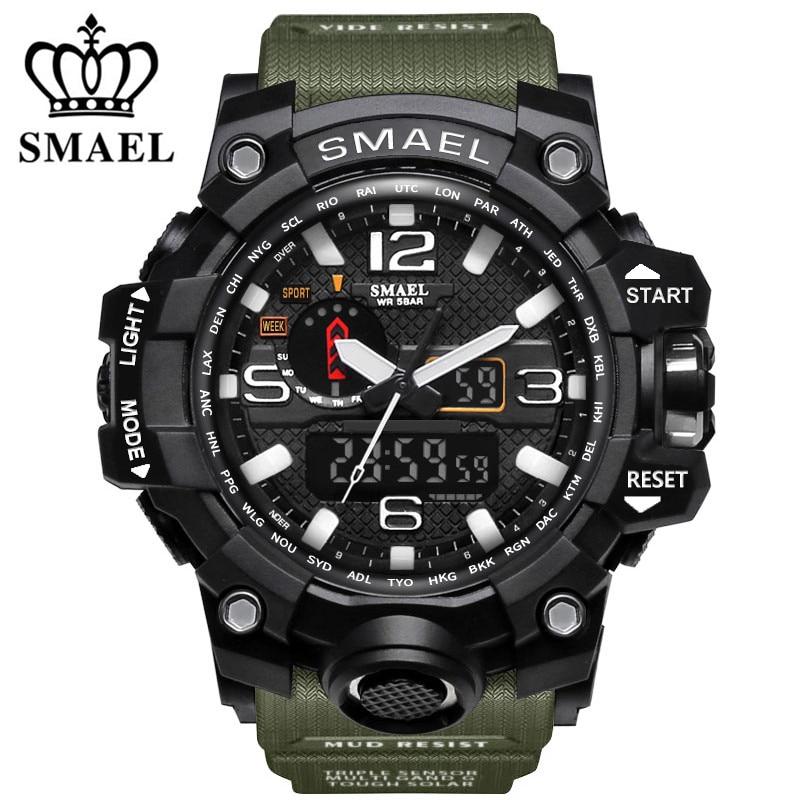 Digitale Uhren Sanda Uhr Männer Luxus Marke Männer Wasserdichte Quarzuhr Fashion Outdoor Sport Uhr Militär Uhr Relogio Masculino Hell In Farbe Herrenuhren