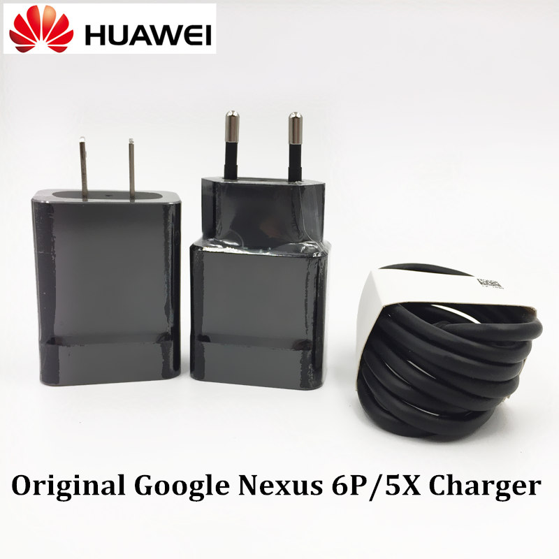 Huawei Nexus 6P Charger Original,5V/3A QC 3.0 usb wall Quick Fast Charge Adapter & type-C Cable For 5X LG GOOGLE Mobile Phone