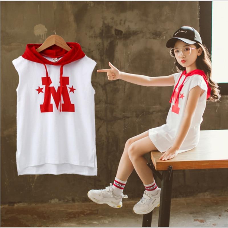BAHEMAMI Baby Dress 2018 Summer New Kids Korean Children Fashion Tops Kids Summer Sports Dresses